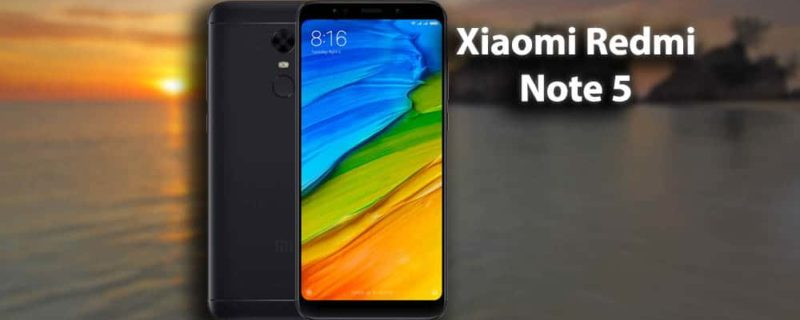 Xiaomi Redmi Note 5 Specifications, Features and Reviews