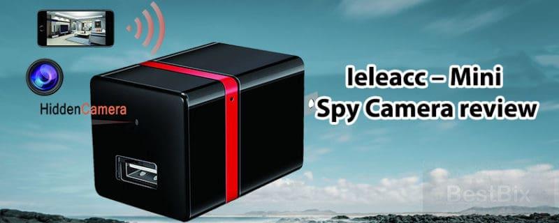 Ieleacc Mini Spy Camera review –  Wireless Hidden Wifi Charger hidden Camera