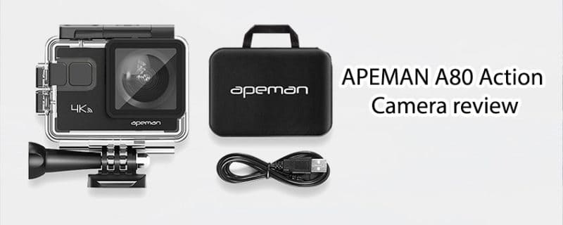 APEMAN Action Camera review and Specifications – APEMAN A80