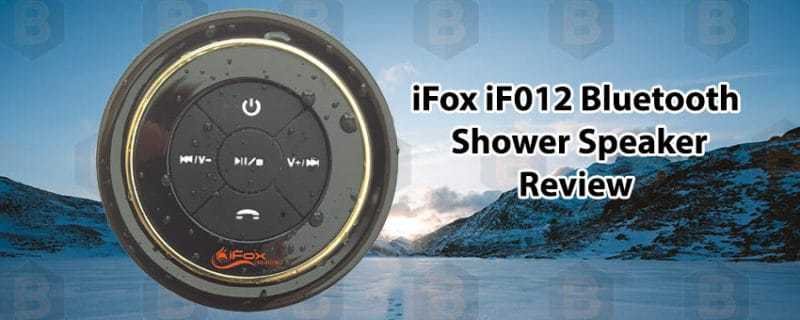 iFox iF012 Bluetooth Shower Speaker review