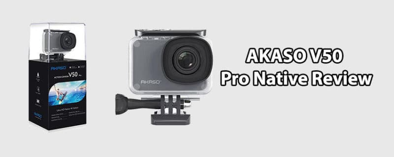 AKASO V50 Pro Native Review – 20MP WiFi Action Camera